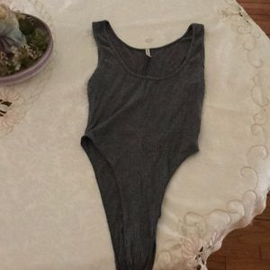 LF High cut tank bodysuit